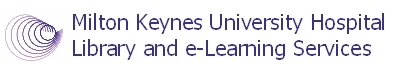 Milton Keynes University Hospital Library and eLearning Services